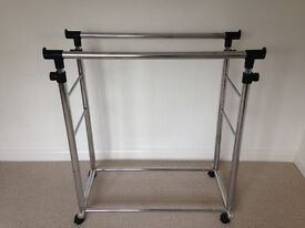 Adjustable Double Clothes Rail