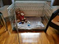Double Door Dog Crate Pets at Home