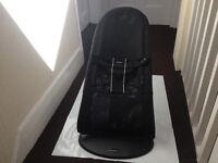 Baby Bjorn Bouncer Soft Chair easy fold black
