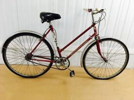 BSA Classic City Bike Fully Serviced Hand operated breaks, Original Features