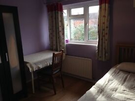 A new decorated double room with a non shared bathroom prefer single female
