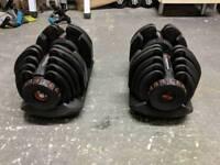 Bowflex 1080i 4-41kg adjustable Dumbbells free weights