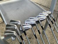 """Vintage Max Faulkner """"Avenger"""" Irons 3-9 + Pitching Wedge and Sand Wedge"""