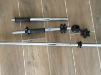 Barbell and set of weights