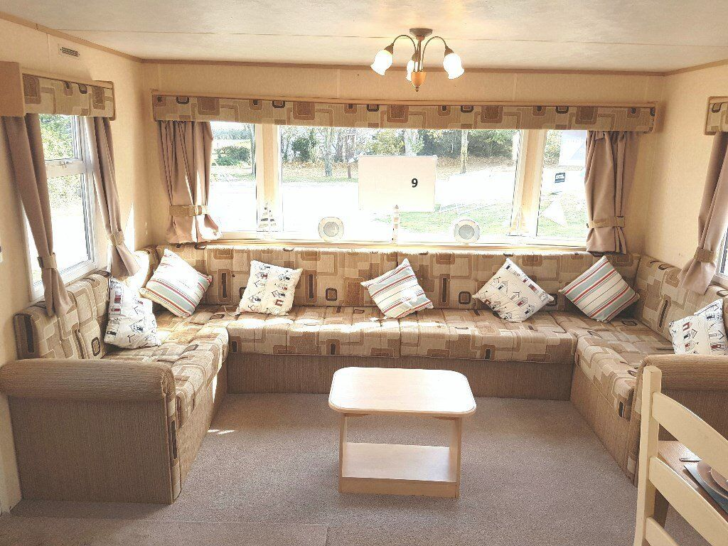 Double Glazed Central Heated Caravan For Sale In Great Yarmouth - Norfolk - Suffolk - Inc 2018 Fees
