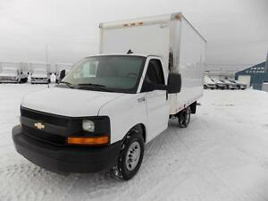 CHEVROLET EXPRESS 3500 CUBE 12 PIEDS 2016