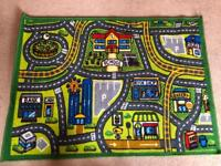 Road map play mat