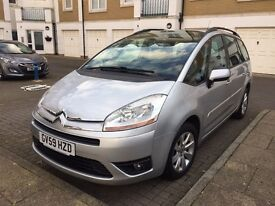 2009 Citreon C4 Grand Picasso 7 seater Autoatic 1.6 Diesel only 49000 mies