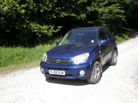 RAV4 XT3 VVTI 05 reg, 3 dr, 88,000 miles, all in excellent condition.