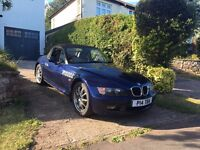 BMW Z3 1.9 Convertible 12 Months MOT, New Clutch, Brakes and Suspension