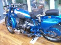 Douglas mk5 motorcycle a reall british classic in outstanding condition .