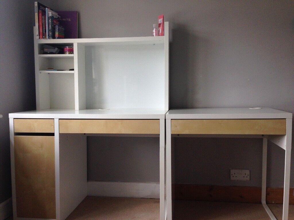 Ikea Micke White Desk Work Station
