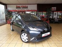 2016 16 TOYOTA AYGO X PLAY ~X SHIFT~YES ONLY 97 MILES~1 OWNER~VIRTUALLY NEW~RARE AUTOMATIC~
