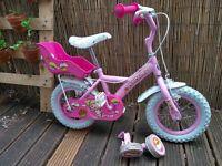 "Apollo Cupcake Kids Bike - 12"" perfect first bike removable Stabilisers"