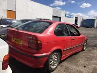 """BMW E36 3 series 15"""" Alloy wheels and tyres 5x120 - Skid Drift Spares Winter"""