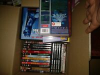 Approx 250 DVDs for sale, all boxed and in good condition COLLECTION ONLY