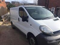 Vauxhall vivaro spares or repairs