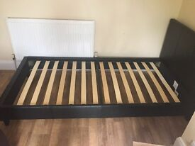 Single faux leather bed frame COLLECTION ONLY