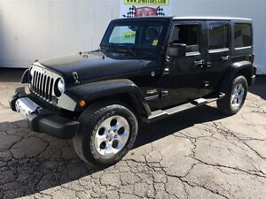 2015 Jeep WRANGLER UNLIMITED Sahara, Automatic, Navigation, 4x4