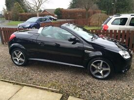 Great Condition Vauxhall Tigra Convertible - 8 years old, VERY low mileage.
