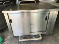 CATERING COMMERCIAL KITCHEN HOT CABINET CUPBOARD CAFE KEBAB CHICKEN RESTAURANT FAST FOOD KITCHEN