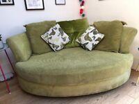 DFS Marni cuddler cuddle sofa