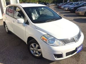 2007 Nissan Versa SL / 4DR HATCH / AUTO / LOADED / POWER GROUP +