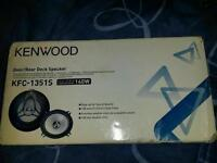 """Brand new kenwood speakers 2ways 5.25"""" high quility upgrades loud sound"""