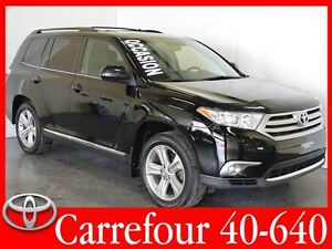 2012 Toyota Highlander V6 4WD Sport Cuir+Toit Ouvrant 7 Passager