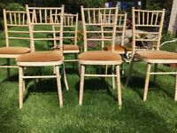 6 dining /kitchen chairs