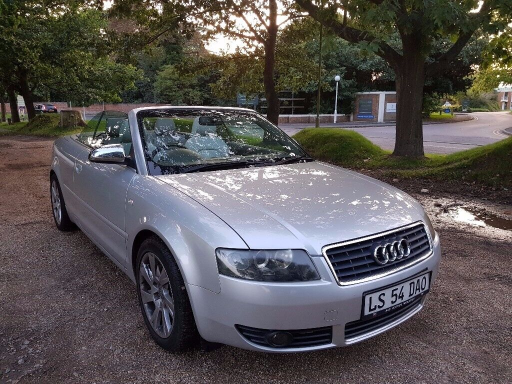 Audi A4 S-Line 2.5 TDI Convertible / Cabriolet