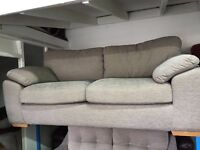 New / Ex Display - dfs Mink 3 Seater Sofa