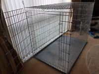 Dog Cage Jumbo Size £90