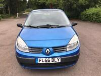 RENAULT SCENIC 1.5 DIESEL DCI 56 REG EXCELLENT CONDITION THROUGHOUT LOW MILEAGE CHEAP CAR