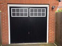 7ft x 7ft Garage Door Excellent Condition Delivery possible