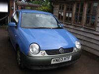 VW Lupo 1.7 SE SDi for spares or repair (new front shock absorbers, coil springs, pedal box)