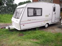 Bessacarr Cameo SLE 440 2 Berth 1995. with awning.
