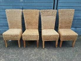 4 matching great quality dining chairs, delivery available