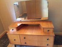 Retro bedroom furniture in good condition