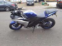 Yamaha r3 registered 125cc