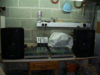 qtx speakers and gemmini xl 120 decks