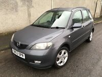 Excellent 2003 53 Mazda 2 1.6 Sport 5Dr **Only 78000+History+1 Years Mot+Great Spec**