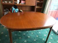 Extending Teak dining room table