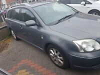 Toyota Avensis 2.0L diesel for sale. Good condition. Mechanically sound. £675 ono