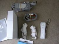 Nintendo Wii x2, white, complete with power supplies, lots of spare parts and games! PICs COMING