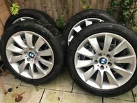 BMW Alloy Wheel with winter tires