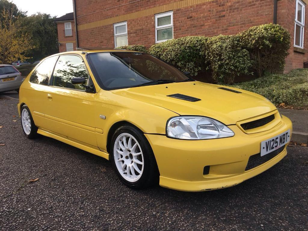 2000 honda civic jordan turbo 304 1 bhp modified vti vtec b18c4 engine in high wycombe. Black Bedroom Furniture Sets. Home Design Ideas