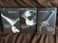 ladies books includes fifty shades of grey x 7