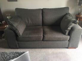 Marks and Spencer's Nantucket Bowen Gunmetal Grey large 2 seater sofa