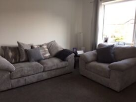 Large Sofa and Large Arm Chair (loveseat)